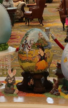 Snow White Easter Egg at Disney's Grand Floridian Resort