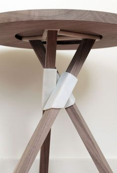 THE TAP TABLES, created by Vera Shur. - - These investigations focus on how joints can replace wood joinery in furniture assembly. The prints Design Furniture, Furniture Projects, Diy Furniture, Modern Furniture, Plywood Furniture, Luxury Furniture, Chair Design, Painted Furniture, 3d Printing Diy
