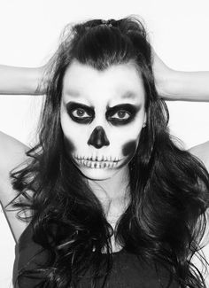 Maquillage de squelette mexicain recherche google divers pinterest halloween google et - Maquillage squelette mexicain ...
