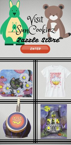 Visit SunCookiez Zazzle Store to find unique gift for friends and Family.