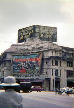 Shaw Brothers Cinema, Singapore 1963.