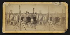 [Fort Sumter, ruins of officer's quarters after flag staff was shot away]