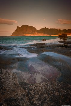 Utakleiv in Lofoten Norway by Hallgeir Nielsen on YouPic Earth Hd, Lofoten, Faroe Islands, Amazing Nature, Finland, Denmark, Norway, Beautiful Places, Explore