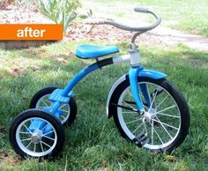 Before & After: Revisited Old Tricycle | Apartment Therapy