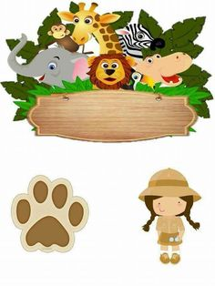 Jungle Safari, Jungle Animals, Safari Theme Party, Party Themes, Zoo Cake, Cake Factory, Paper Cake, Animal Birthday, Baby Shower Centerpieces