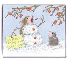 """Refrigerator Magnet"", Stock #: M-2017-12, from House-Mouse Designs®. This item was recently purchased off from our web site. Click on the image to see more information."