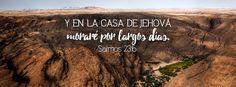 """Moraré por largos días - Salmos 23:6 """"Ciertamente el bien y la misericordia me…"""