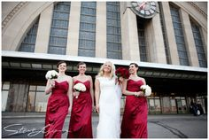 Steve Lyons Wedding Photography - lyonswedding.com - Cincinnati, Ohio Wedding Photographer - Lead: Drew Riedman - Cincinnati Museum Center Union Terminal