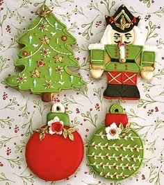 Christmas Tree, Nutcracker, ornaments
