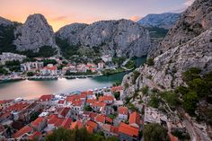 Omis Old Town, Croatia by Andrey Omelyanchuk - Photo 77551131 - 500px