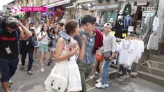 Wooyoung and Park Seyoung