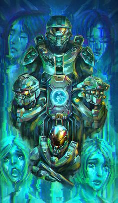 Fanart halo 5 Competition Reunion by DJBshadow