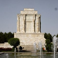 """Frdowsi's tomb Abu l-Qasim Ferdowsi Tusi (9401020 CE) or Firdawsi was a highly revered Persian poet and the author of the epic of Shahnameh (the Persian """"Book of Kings"""") which is the world's longest epic poem created by a single poet and the national epic of Iran and the Persian-speaking world. Having drafted the Shahnameh under patronage of the Samanid and the Ghaznavid courts of Persia Ferdowsi is celebrated as one of the most influential Persian poets of all time and an influential figure…"""