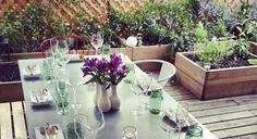 Rose's Luxury private rooftop garden - definitely one of THE most romantic dinners in DC