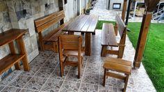 Zahradní nábytek z masivu - Rakovník | Nábytek Kulhánek