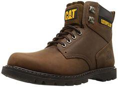 Beautiful Caterpillar Men s 2nd Shift 6 Plain Soft-Toe Work Boot Men  Fashion Shoes. 31f4358fa27
