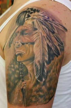If you want to make Tattoo Indians with braid and paint yourself and you are looking for the suitable design or just interested in tattoo, then this site is for you.
