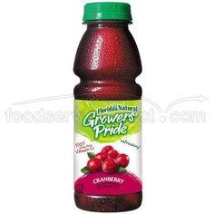 Floridas Natural Growers Pride Cranberry Cocktail Juice, 14 Fluid Ounce -- 12 per case. >>> Visit the image link more details.