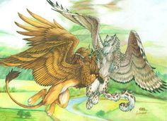 Wings of Love by Goldenwolf on DeviantArt Fantasy Kunst, Fantasy Art, Fantasy Creatures, Mythical Creatures, Aliens, Mythological Animals, Fantastic Beasts, Beautiful Artwork, Werewolf