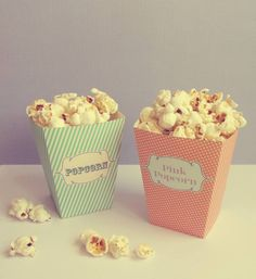 DIY: Ma boite a popcorn a imprimer « MARGOT L'ASTICOT - rajouter pop corn en sachet a l interieur