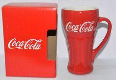 Coca Cola Red Glass Authentic Premium Collection New picclick.com
