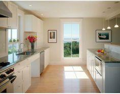 Art-decoration-Cabinets-Ceiling-lights-Light-airy-Ovens-Range-hoods-Windows : Gallery Image : Remodelista
