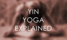 Ever hear the word Yin and wonder what it exactly it means? Yin is the feminine, dark, passive, receptive, reflective, withdrawn, cool, introspective aspects of life. Yin yoga was developed to penetrate deep into connective tissue expanding flexibility while invigorating the energy centers of the body (nadis) to release blockages and increase your energy flow.…