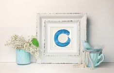 """""""Enso Dream 12 - Original Zen Circle Watercolor by Kathy Morton Stanion - Free Shipping!"""" by Kathy Morton Stanion. Watercolour on Paper, Subject: Abstract and non-figurative, Expressive and gestural style, One of a kind artwork, Signed on the front, Size: 11.43 x 11.43 cm (unframed), 4.5 x 4.5 in (unframed), Materials: Watercolor on 140 lb. Acid FreeWatercolor paper"""