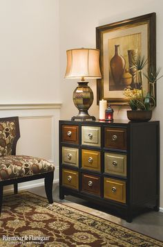 Add a splash of color and convenient extra storage space to your home with this eye-catching Mia accent chest. It's great for an entryway, living room or even a dining room! Extra Storage Space, Storage Spaces, Furniture Decor, Painted Furniture, Accent Chest, Drawer Fronts, Dresser As Nightstand, Accent Pieces, Salvage Dogs