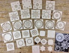 Check out some of the MANY ways to use Stampin' Up!'s Eastern Medallions Thinlits!  They are part of the Eastern Palace Bundle!  #stamptherapist #handmadeby #stampinup www.stamptherapist.com