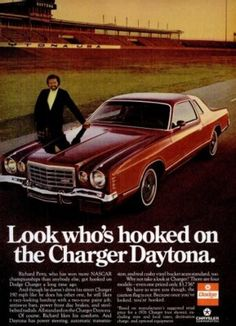 Richard petty dodge charger ad