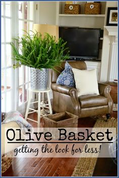 OLIVE BASKET-GET THE