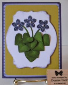 Petite Petals | Denise Foor Studio PA  Punch Art Stampin' Up!