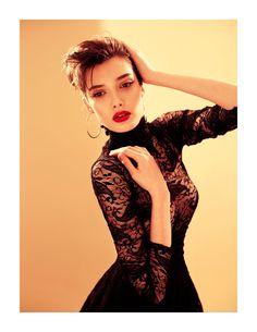 Love the hand placement, lighting and slightly off camera stare  http://fashiongonerogue.com/stefania-ivanescu-tibi-clenci-fashion-rogue/