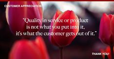 """Quality in service or product is not what you put into it, it's what the customer gets out of it!"" #OsceolaEnergy #CustomerAppreciation #FridayFeeling #HappyFriday :)"