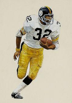 Steelers RB Franco Harris