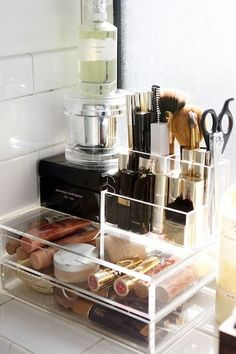 Makeup organization ideas