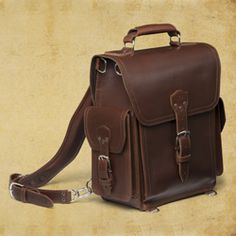 Gorgeous, manly bags from Saddleback Leather.  Everything they make looks worthy of handing down to your kids.