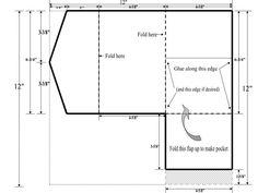 DIY Pocketfold Invitation Template
