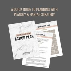 Instagram 30 Day Action Plan Digital Download Instagram | Etsy Social Media Pages, Instagram Story Ideas, 30 Day, Prompts, Instagram Feed, Meant To Be, Stress, Action, Facts