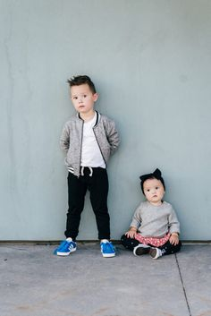 My sweet babies are my whole world and I love to dress them in the comfiest clothes I can find for them! With a four year-old and a 1 1/2 year-old, I feel that I am constantly changing them in and out of outfits throughout the day. I always make sure to dress them in soft quality clothes. A few tips I have for you mommas to keep the babies clothes lasting a long time is to hang dry, always bring wipes with you, and let them wear whatever they want until you need to go out for...