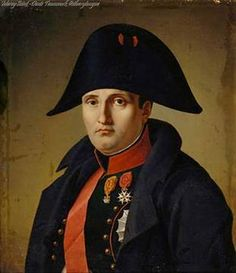 Portraits of Napoleon I, by Charles Auguste Steuben (1812).