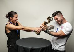 Ali and Kyle Krieger