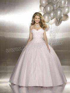 Ball Gown Sweetheart Beading Sleeveless Floor-length Satin Net Dress