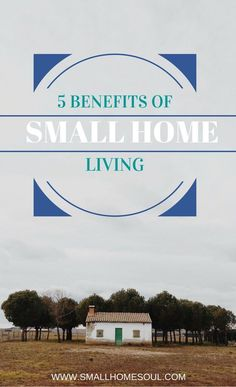 You don't have to live in a huge home to have a happy life. There are so many benefits of small home living and I'm happy to share my top five. Tags: budget, housework, decor, easy living.
