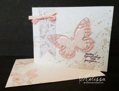 Stampin' Up! Butterfly Basics by Melissa Davies @ rubberfunatics