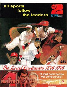 1976 Cardinals Scorecard