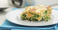 Recette de Lasagnes saumon, épinards et ricotta. Facile et rapide à réaliser, goûteuse et diététique. Ingrédients, préparation et recettes associées.
