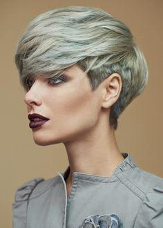 Aveda & Kydra Hair stile on Behance