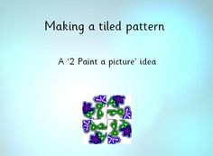 Art and ICT: William Morris - A PowerPoint presentation showing clear guidelines of how use software to produce Artwork.